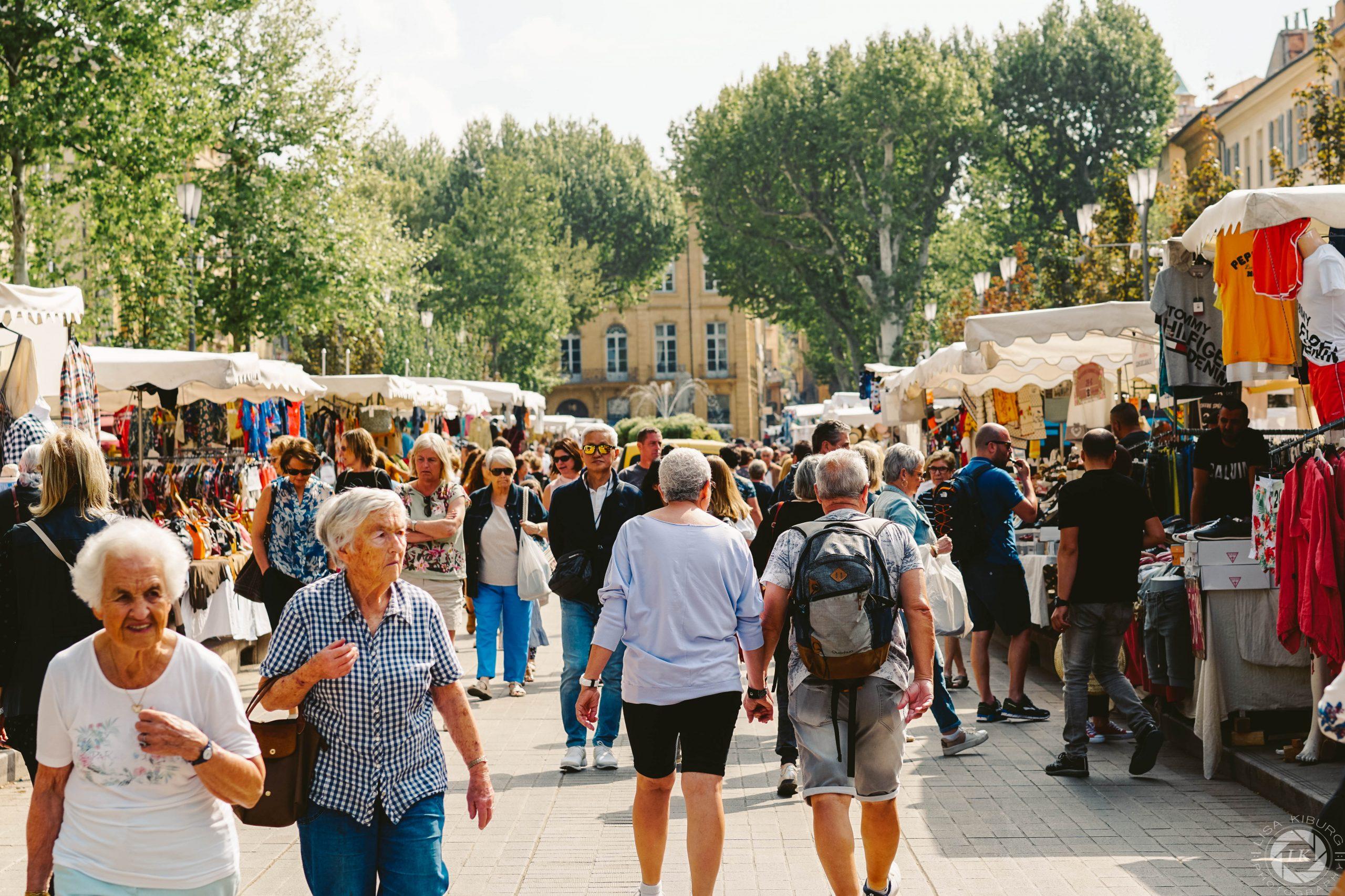Market Aix-en-Provence