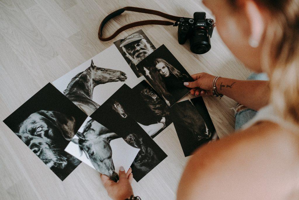 Choosing prints